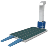 Single Preparation Deck - Stand Only - Hurricane Equipment