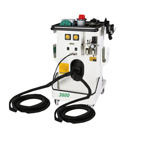 3600B Double Central Vacuum Mobile