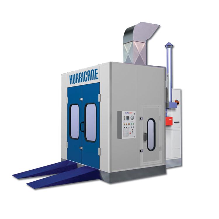 parts spray booth 3450mm x 3450mm hurricane spraybooths