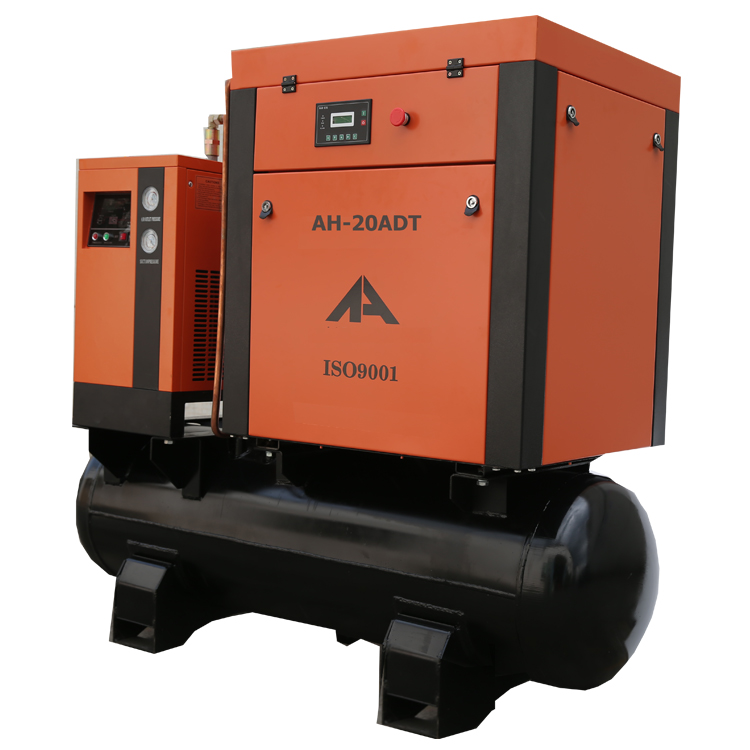 AH20A-SCTD Screw Compressor 15KW 20HP with tank and dryer