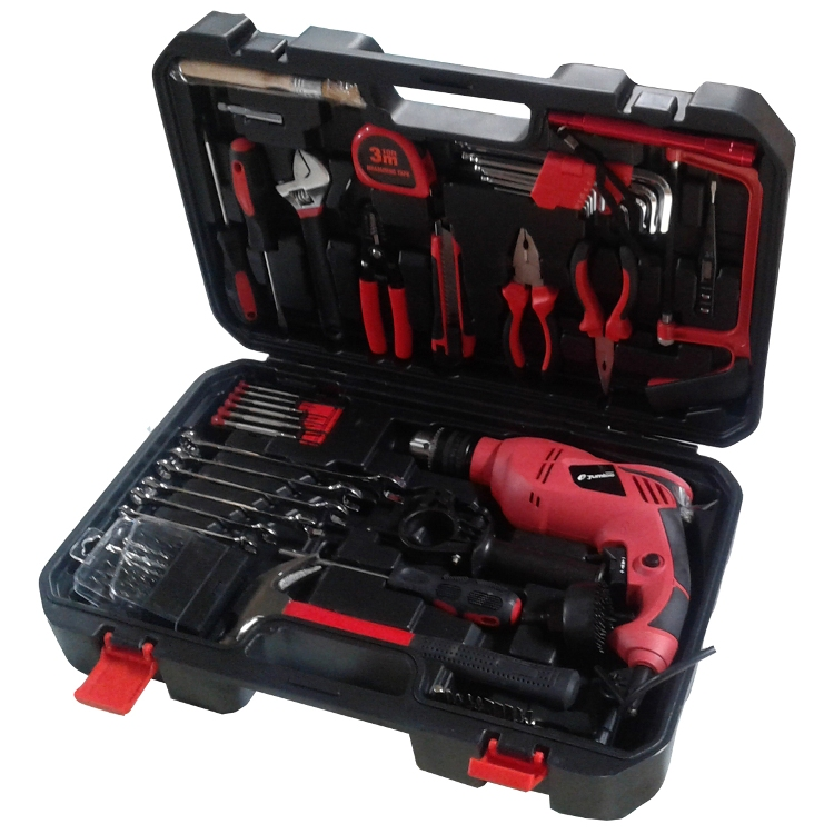 Toolset 64PCS with Electric Drill Jumlee (F2-13785-3)