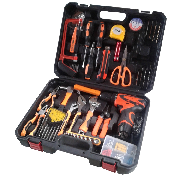 Toolset 52PCS with Cordless Drill Solude (F2-14340-5)